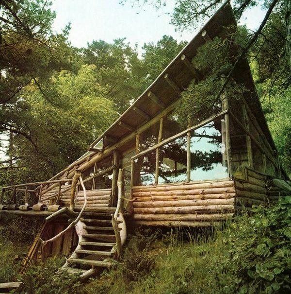 Haus Im Wald On Pinterest Baumhaus Bauen, Spiele Im Wald And