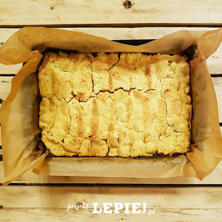Projekt Lepiej - Zdrowy deser. Szarlotka bez