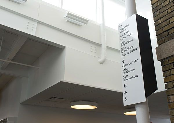 Bibliothèque Marc-Favreau by Jolin Masson, via Behance