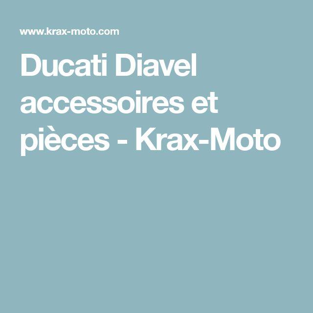 Ducati Diavel accessoires et pièces - Krax-Moto