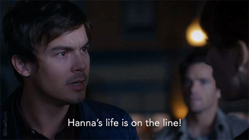 "S7 Ep1 ""Tick-Tock, Bitches"" - Will they be able to find her? #SaveHanna #PLL"