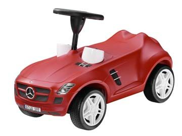Art. B66961211. Mercedes-Benz SLS AMG, color rojo. Carro para niño.