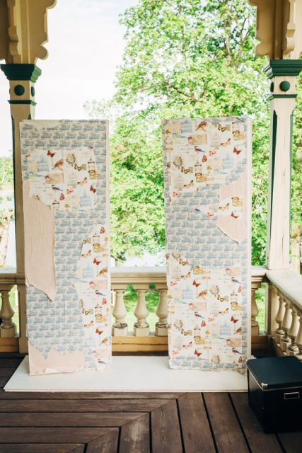 Our Photo Booth :) #photobooth #wedding #gardenchic
