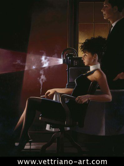 An Imperfect Past- Jack Vettriano