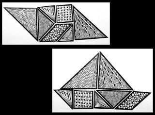 Fun with Mathematics -Zentangle Inspired Tangrams