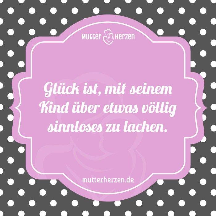 Gemeinsam lachen verbindet  Mehr schöne Sprüche auf: www.mutterherzen.de  #lachen #unsinn #sinnlos #spaß #quatsch #unfug #spielen #mutter #kind