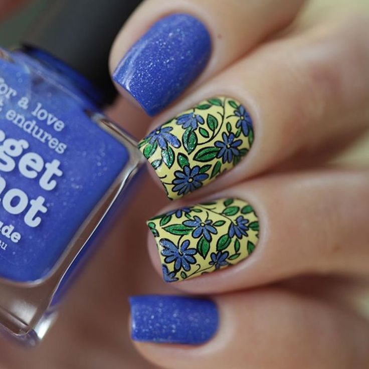 picture polish 39 forget me not sorbet hercynia 39 worn by anya sobko. Black Bedroom Furniture Sets. Home Design Ideas