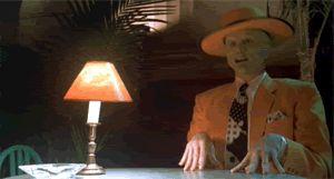 Jim Carrey The Mask Jaw Drop gif