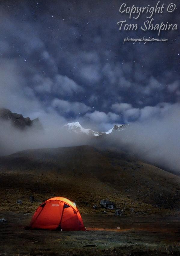 Cold Night Outdoors / Photographer: Tom Shapira