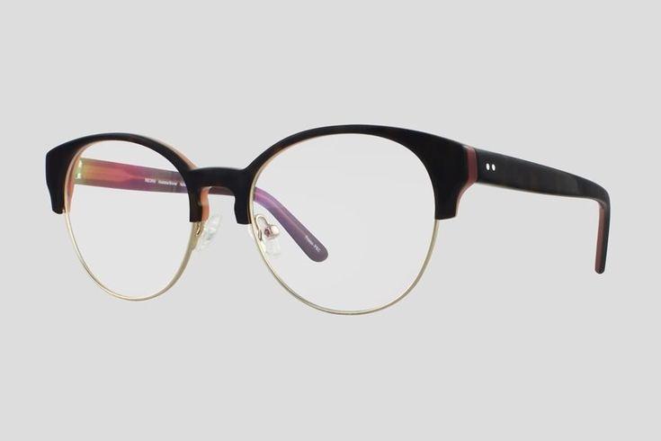 #Brillen van Reor. Dit is de Toulouse (art. nr F10.617UBR). Prachtig vintage model volrand #montuur van zilver gekleurd monel en donker schildpad design acetaat. Verkrijgbaar in meerdere kleuren.