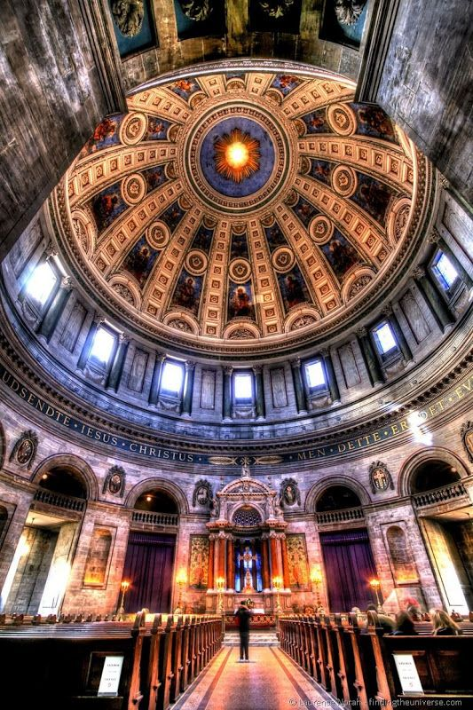 Marble church dome, Copenhagen