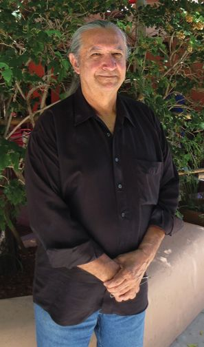 Jerry Ingram, Choctaw beadworker, painter, and regalia maker