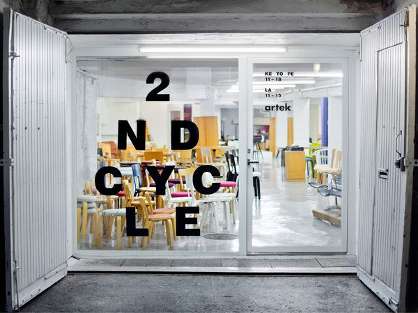 Artek 2nd cycle shop  (Pieni Roobertinkatu, Helsinki)  http://2ndcycle.artek.fi/