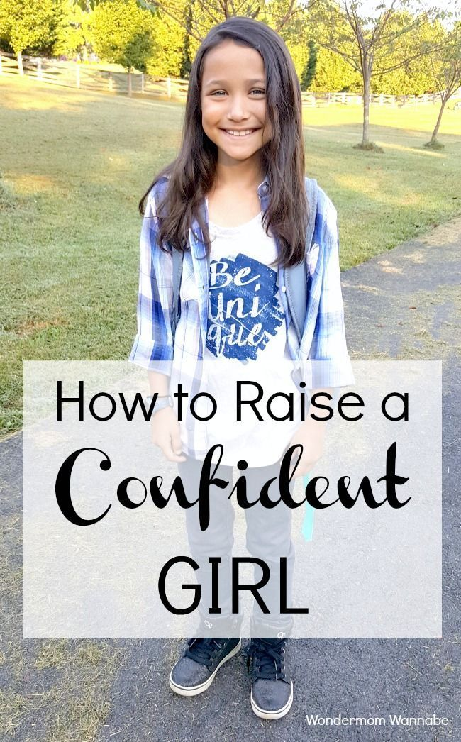 Great suggestions for raising your daughter to be a confident girl so that she can enjoy life more and you can worry less! via @wondermomwannab