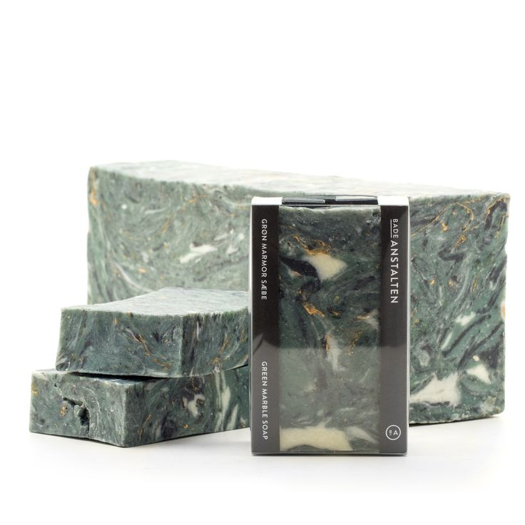 Our new soap for 2015 - Green Marble.