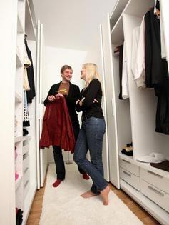 Trend Ein begehbarer Kleiderschrank