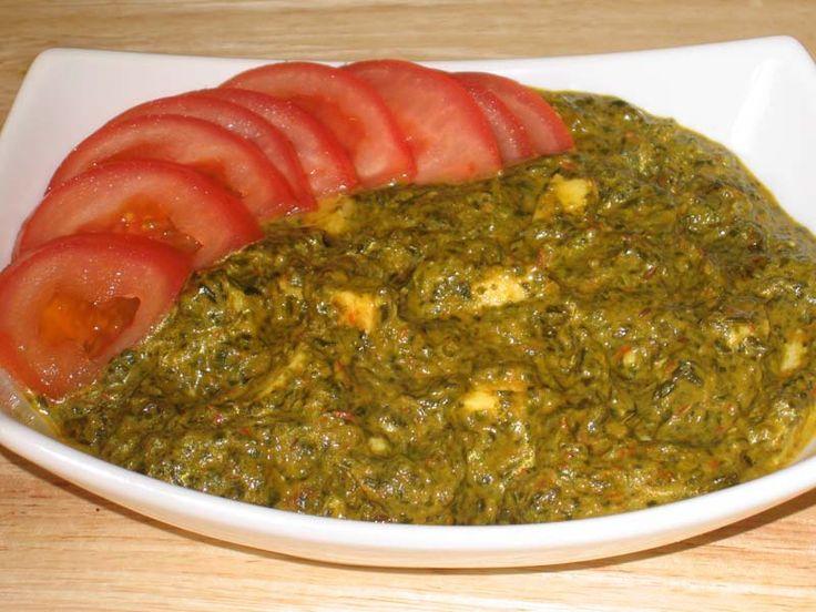 Palak (Spinach) Paneer | Manjula's Kitchen | Indian Vegetarian Recipes | Cooking Videos