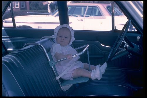 60's infant car seats | safety first!