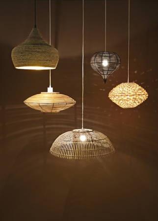 Quelle matière choisir pour votre suspension : le rotin, le bambou, le métal ?