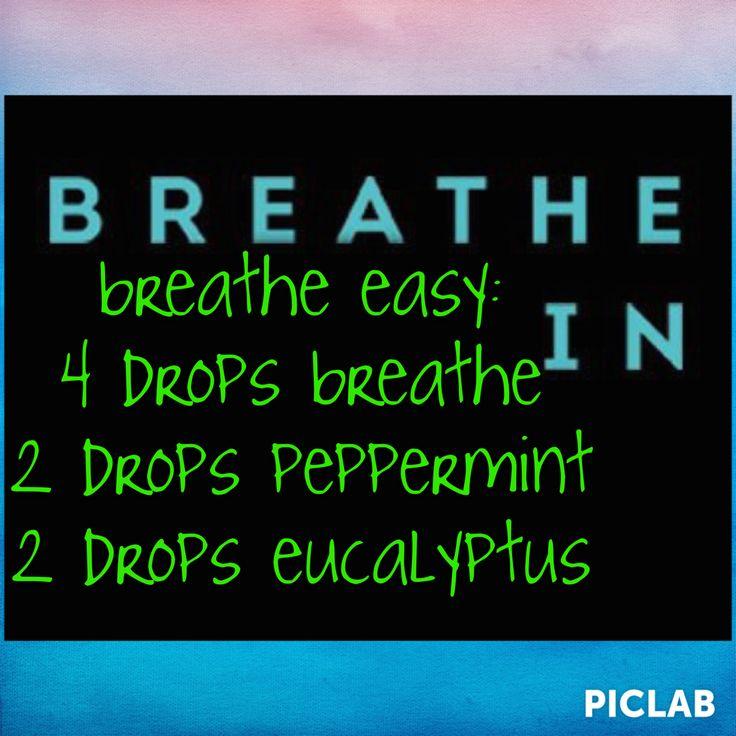 Doterra breathe diffuser blend