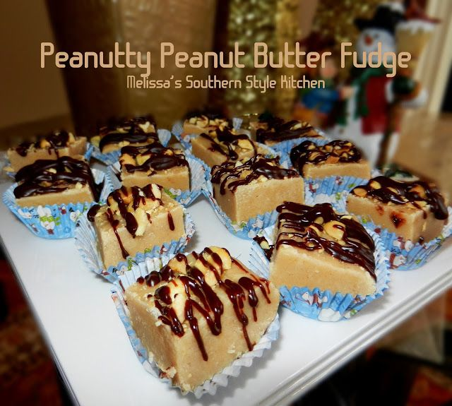 Melissa's Southern Style Kitchen: Peanutty Peanut Butter Fudge