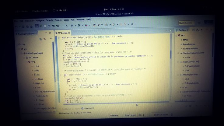 Programming in Scala #programming #coding #code #program #GNULinux #Linux #Programmation #Scala #Eclipse #licenceinfo #Fedora by getsudamv