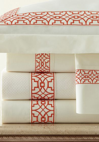 Léron | Hand Embroidered Bed Linens | View All