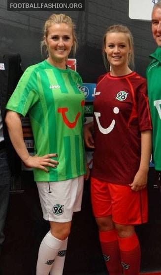 Hannover 96 Jako 2013/14 Home and Away Kits