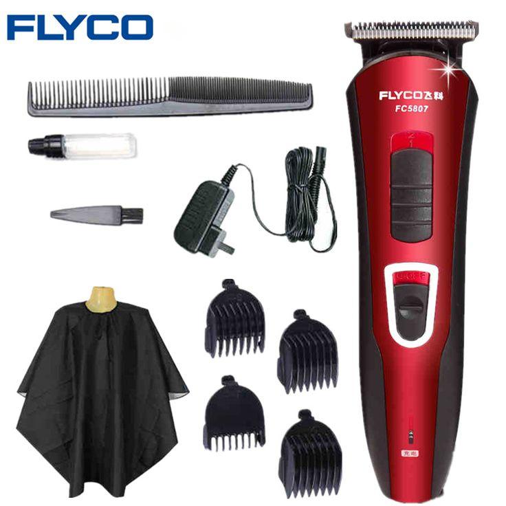 FLYCO secador de Pelo Profesional Clipper Trimmer Pelo Afeitadora clipper adulto de pelo eléctrico del Hogar razor Corte de Pelo Herramientas de Peinado FC5807
