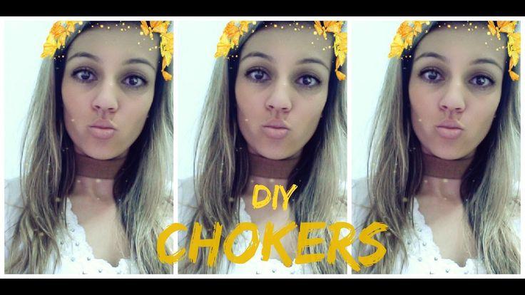 DIY: Chokers | Faça Você Mesmo sua gargantilha