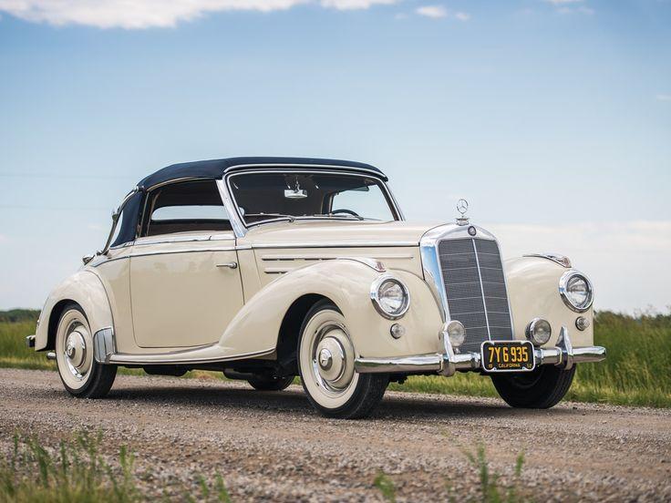 1952 mercedes benz 220 cabriolet a german classic cars for 1952 mercedes benz