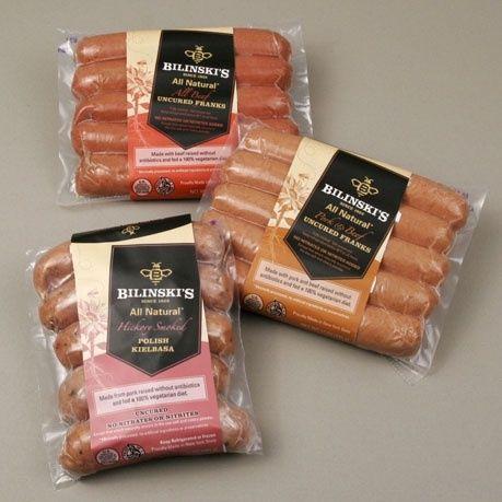 Bilinski Sausage Company - Hot Dog Packaging