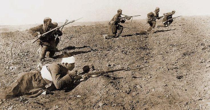 Ελληνες εναντίον Τούρκων Μικρά Ασία 1922