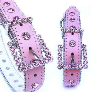 Pink Rhinestone Dog Collar for my puppy