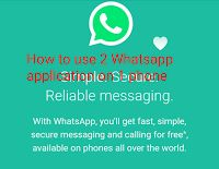 Some people may be wondering how possible this maybe but this supprise should be for some not many as alot of individuals including me has been using 2 Whatsapp application on my phone for quit a long time now.  Using two Whatsapp on your phone is an added advantage to anybody who is making use of it as it gives you the possibility of using two sim cards to chat friends and family on the same phone.  Advantage of using 2 Whatsapp:  It gives you the ability to use 2 Whatsapp application on…