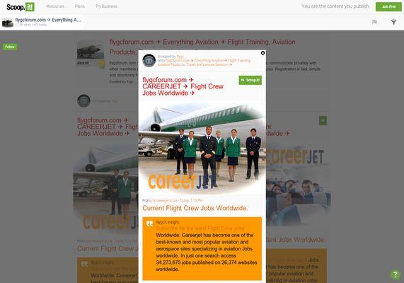 flygcforum.com ✈ CAREERJET ✈ Flight Crew Jobs ✈  http://shrs.it/19g8g