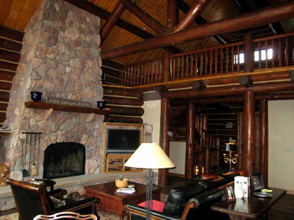 12 best log cabins images on Pinterest | Log cabins, Interior ...