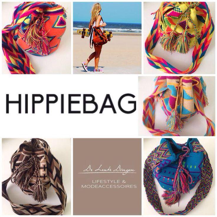 #Vakantie tip #mochila #hippie bag handig voor op #reis naar het strand of een #festival en de #nijmeegse #4daagse!  www.deleukedingen.nl