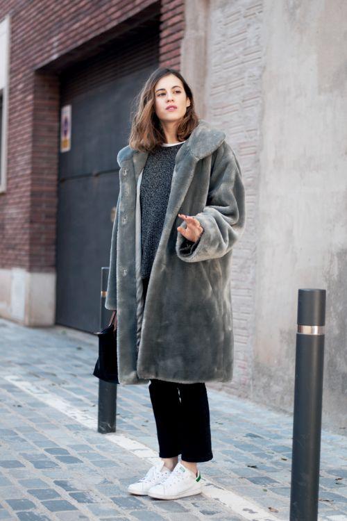 Soft grey fur