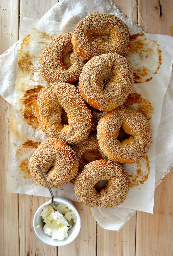 Homemade (The Famous) Montreal Bagels, by thewoksoflife.com #montreal #bagels