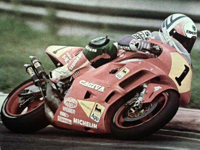 Frankie Chili on Cagiva 500 cc 2strokes