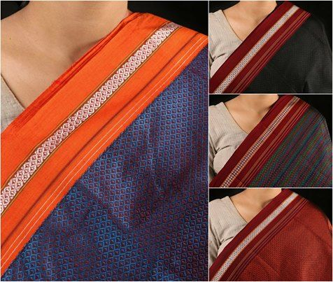 Handloom Cotton Khun Fabrics From Maharashtra In 2019