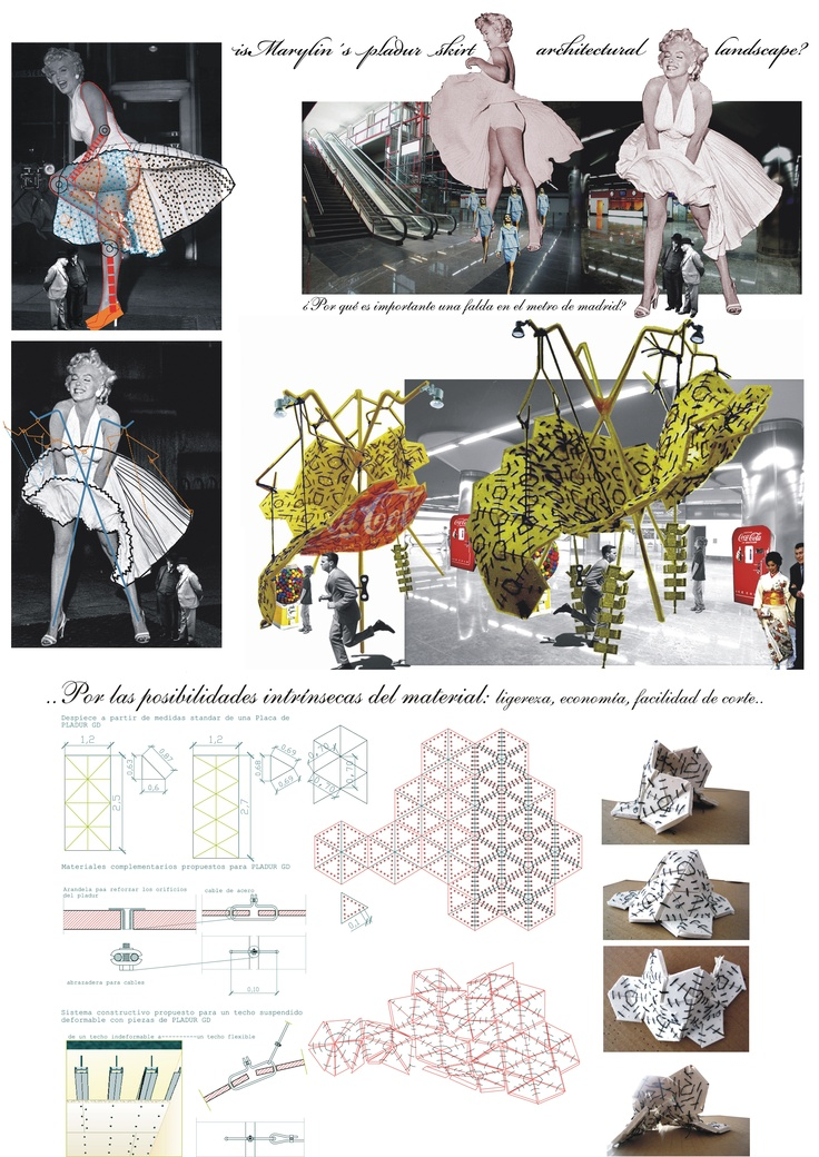"""2005_ 1st PRIZE_  MAKING A PLADUR´s LANDSCAPE_ """"CON FALDAS Y A LO LOCO"""" by María Gómez Javaloyes & verónica velaz garcía"""