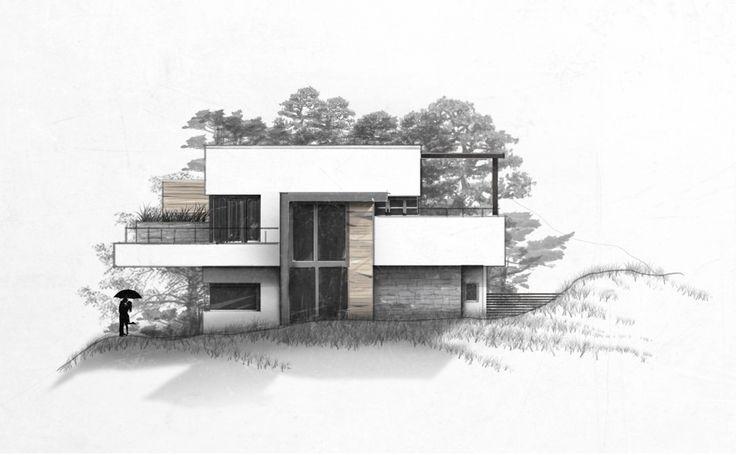 architektur skizzen skizzenbuch visualisierung grundriss coffein modernearchitektur visionen messestand orientieren retiji entwurf konzepte küchen