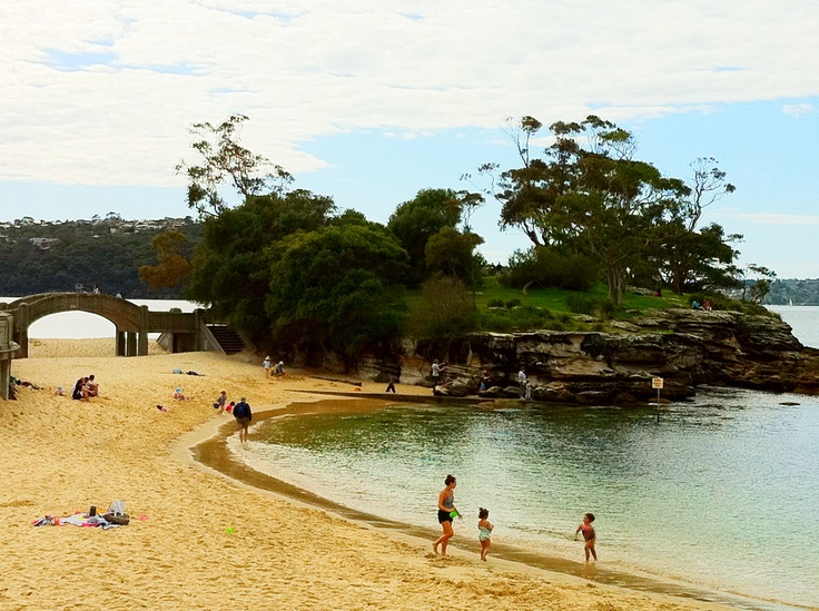 Balmoral - our favourite local beach