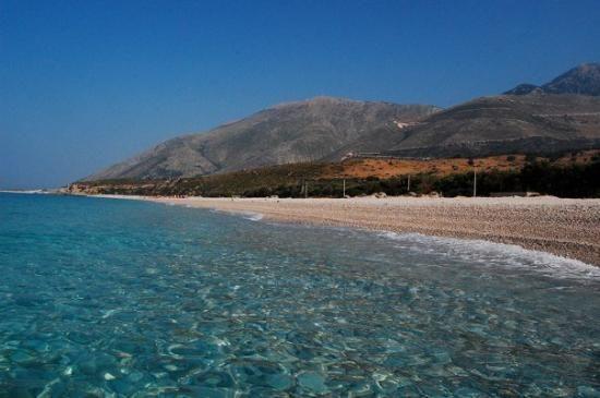 dhermi beach - albanien