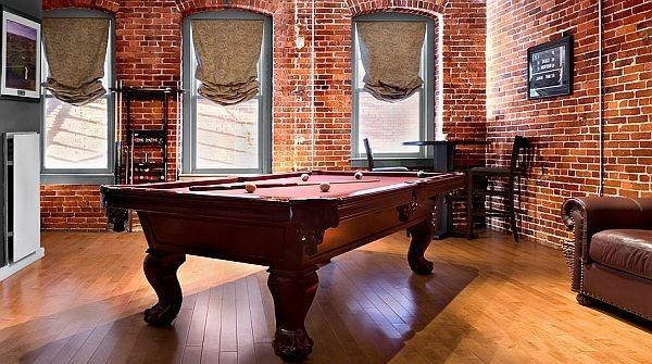 Modernes Bachelor Pad Ideen-Pool table