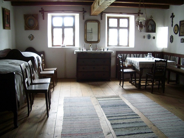 Hungarian Peasant House Interior By Imolaphoto, Via Flickr Though  Hungarian, Hungarians Still Live In