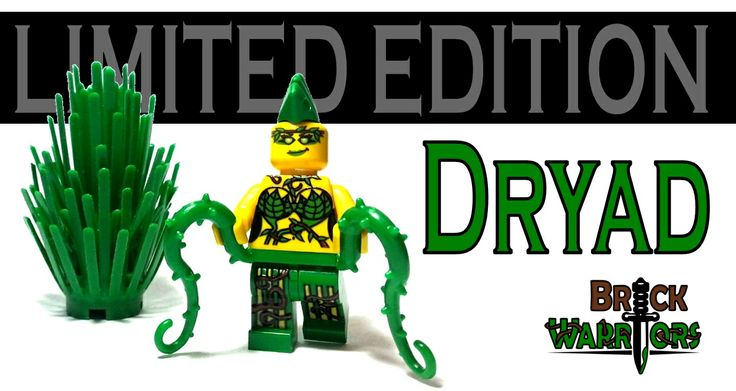 Free shipping worldwide on orders over $25 continues (Orders for Chains to Champions excluded).  And now for the really exciting news…introducing the brand new, limited edition BrickWarriors Dryad Minifigure, which features: Custom Printed Face Custom Printed Torso Custom Printed Legs 2 Exclusive Green Vine Whips Green Mohawk #Lego #minifigures #BrickWarriors #freeshipping #dryad #weapons #vines #green #custom #Mohawk #limitededition
