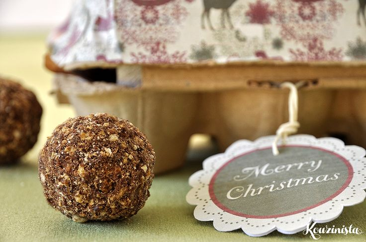 Tρουφάκια με πραλίνα φουντουκιού / Nutella truffles